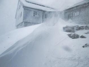 Schnee am Hohen Sonnblick. Foto: Hermann Scheer