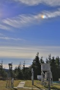 Nebensonne über der Wetterhütte (ch)
